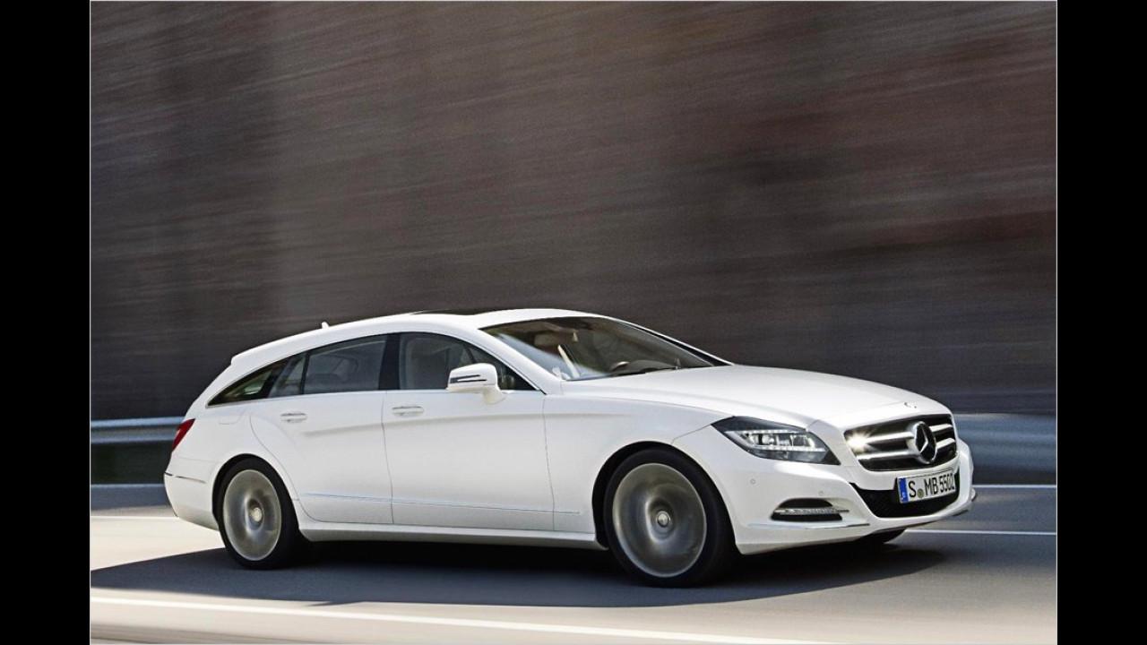 Oktober: Mercedes CLS Shooting Brake
