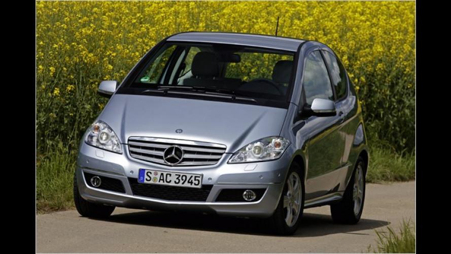 Moderne Härte: Mercedes A 160 CDI BlueEfficiency