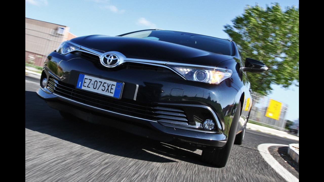 Toyota Auris, c'è spazio per... volare