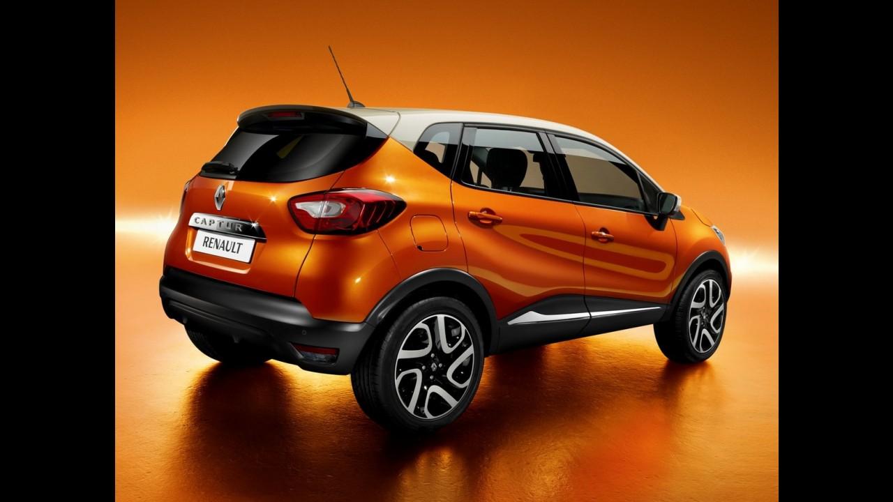 Renault Captur nacional chega em 2016 com base de Duster