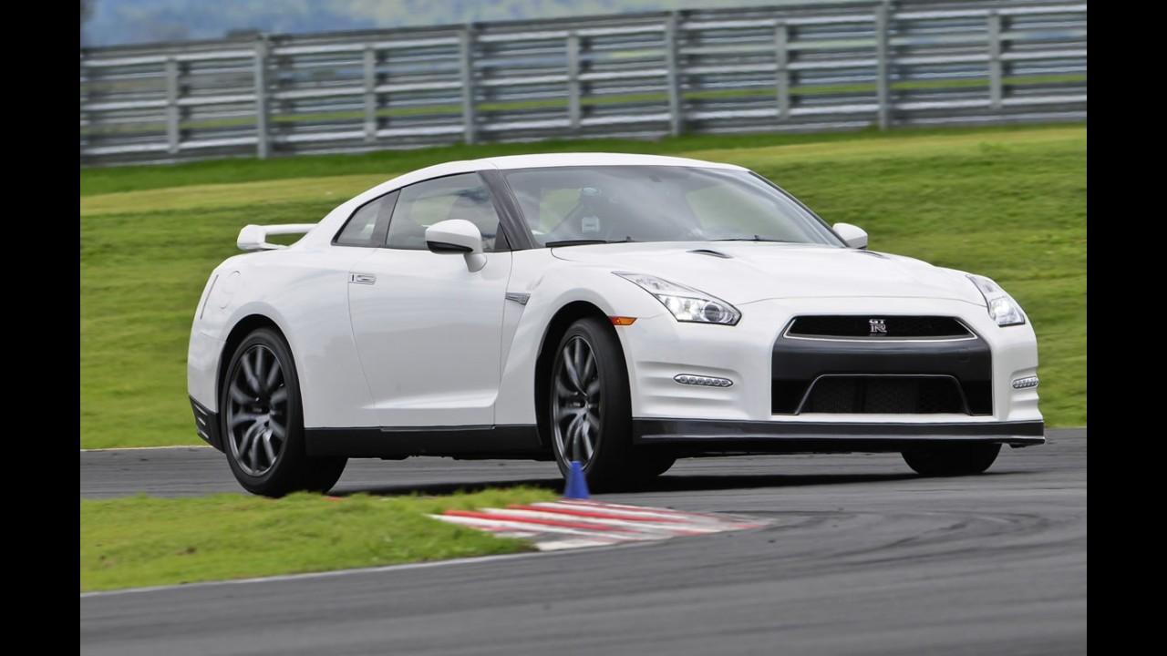 Novo Nissan GT-R aparecerá pela primeira vez no Brasil durante os Jogos Olímpicos