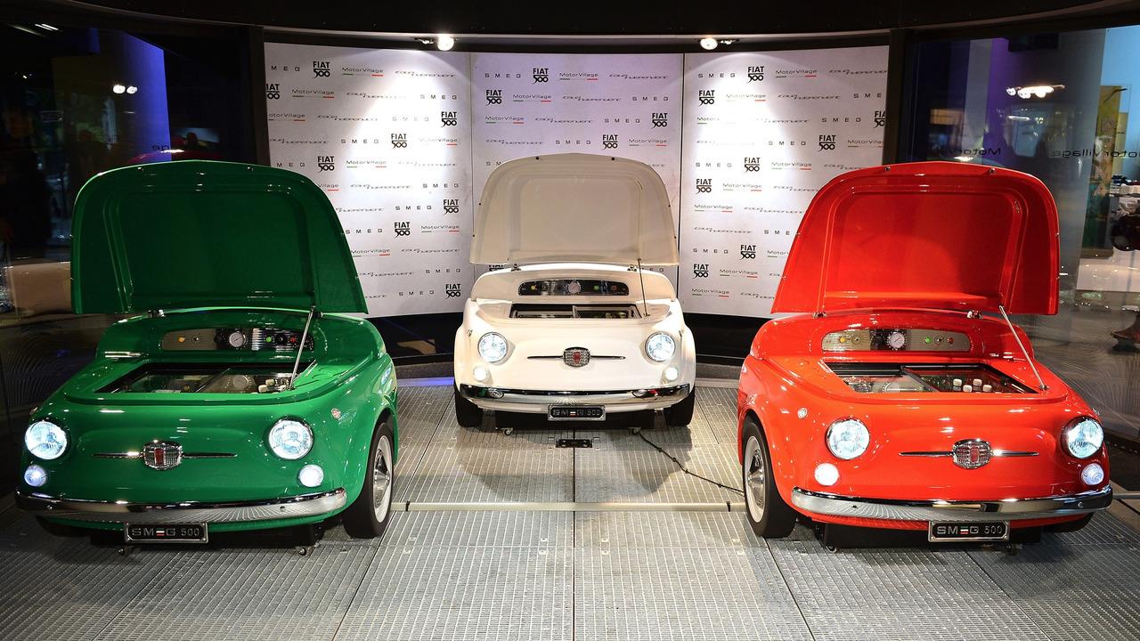 Smeg Frigo Fiat 500