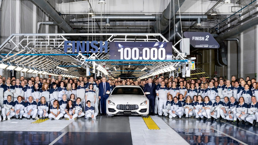 Maserati builds 100,000 cars in three years at AGAP plant