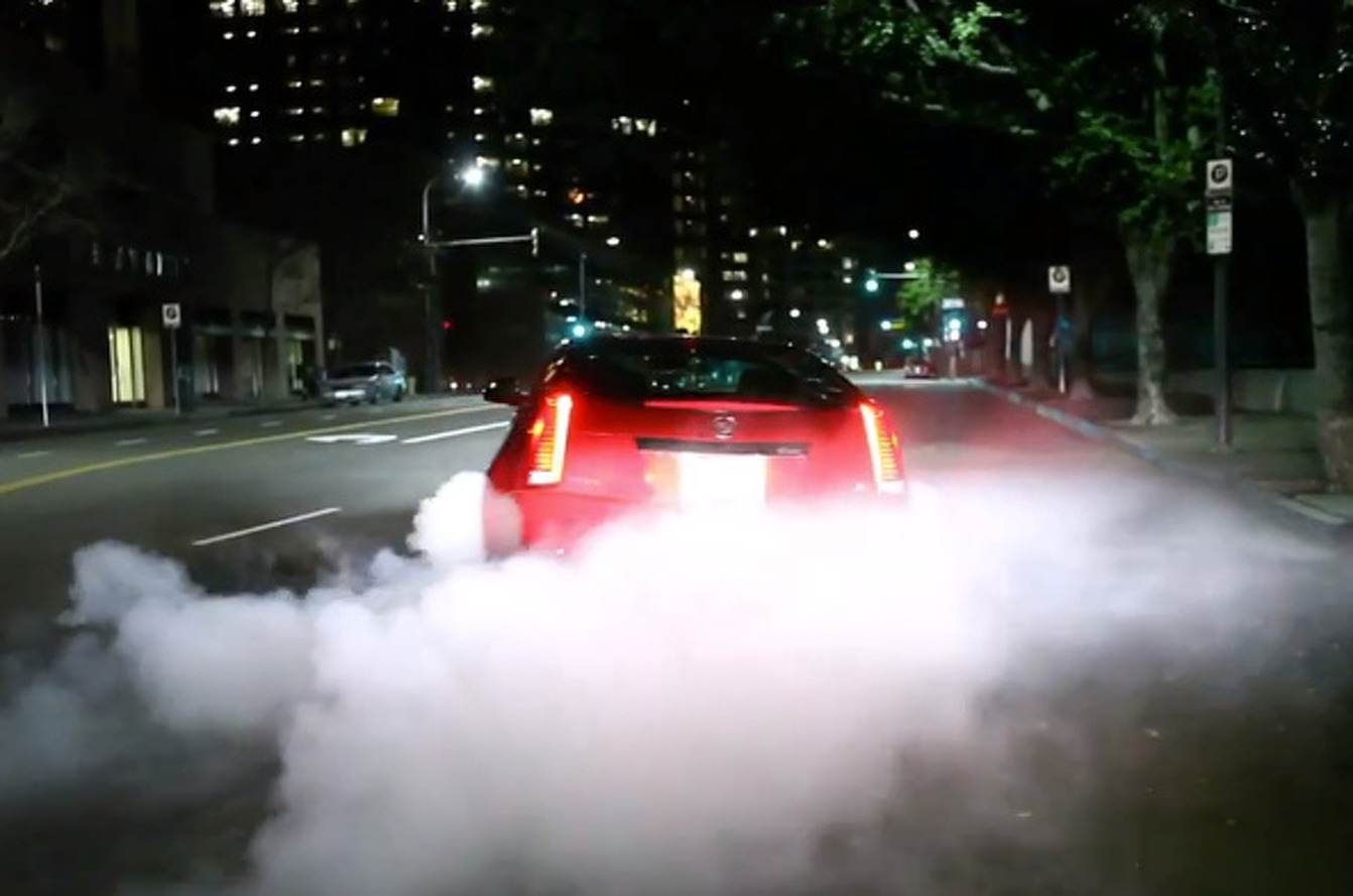 Hooniverse Does Naughty, After-Hours Things With CTS-V Coupe