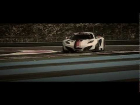 MP4-12C GT3 competitive world debut