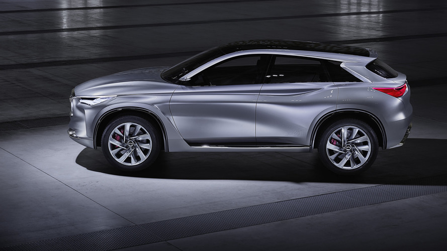 Infiniti QX50 replacement due at Paris Motor Show