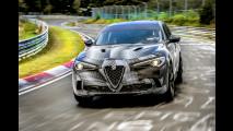 Alfa Romeo Stelvio Quadrifoglio, giro record al Nurburgring