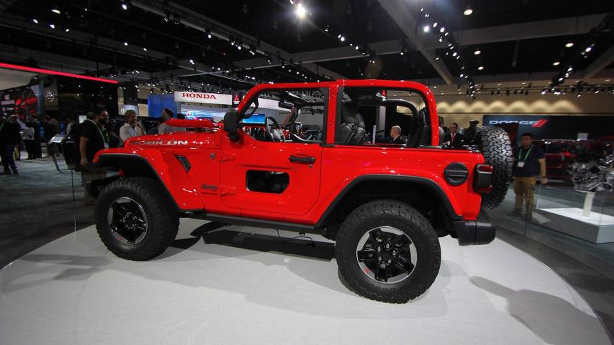 Jeep Wrangler's Cool Cut-Out Doors Probably Aren't Happening