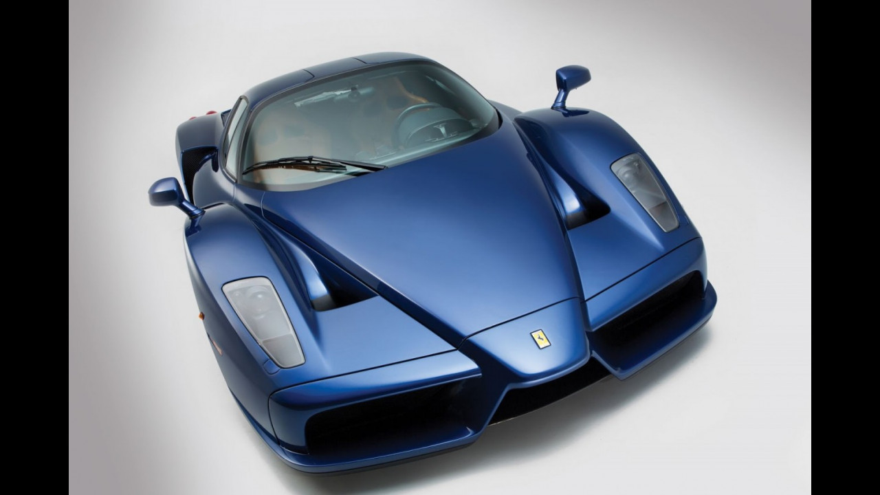 Ferrari Enzo Blu Tour de France