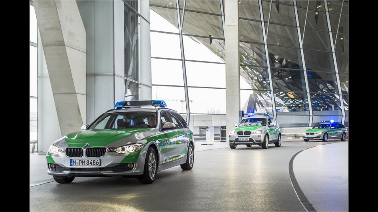 BMW 3er (F30) Polizei