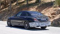 Mercedes-Benz C-Class Spy Shots