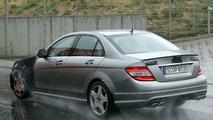 Mercedes C63 AMG spy photo