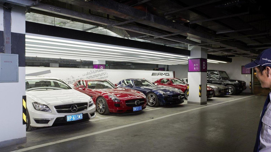 Mercedes AMG opens first performance center in Beijing