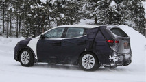 2013 Hyundai ix45 / Santa Fe winter testing spy photo in Scandinavia