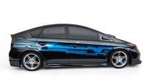 Custom Clint Bowyer Toyota Prius prepared for SEMA