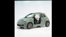 Fiat 500, il crash test negli USA