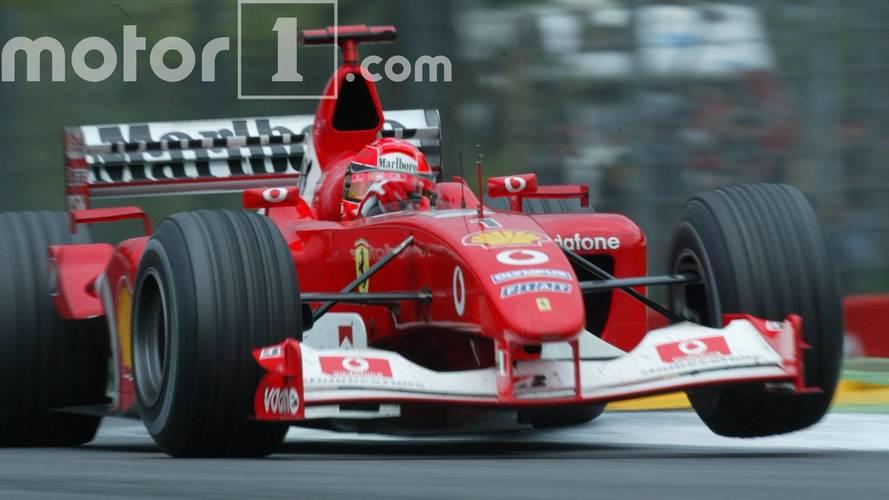 Motor1.com Legends: Ferrari F2002