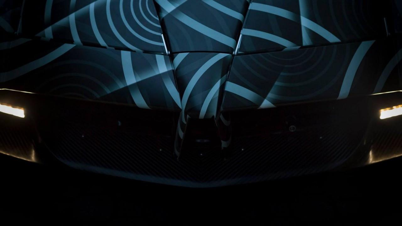 Pagani Huayra Roadster, i teaser