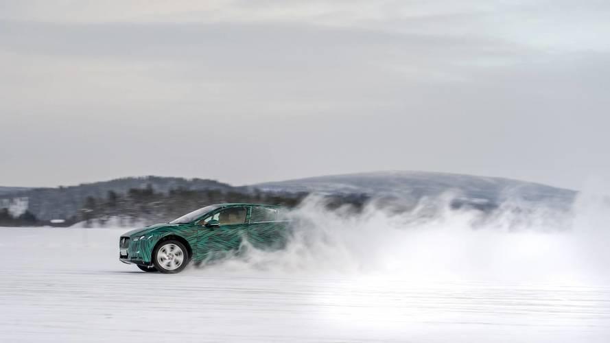 Jaguar I-Pace kış testleri