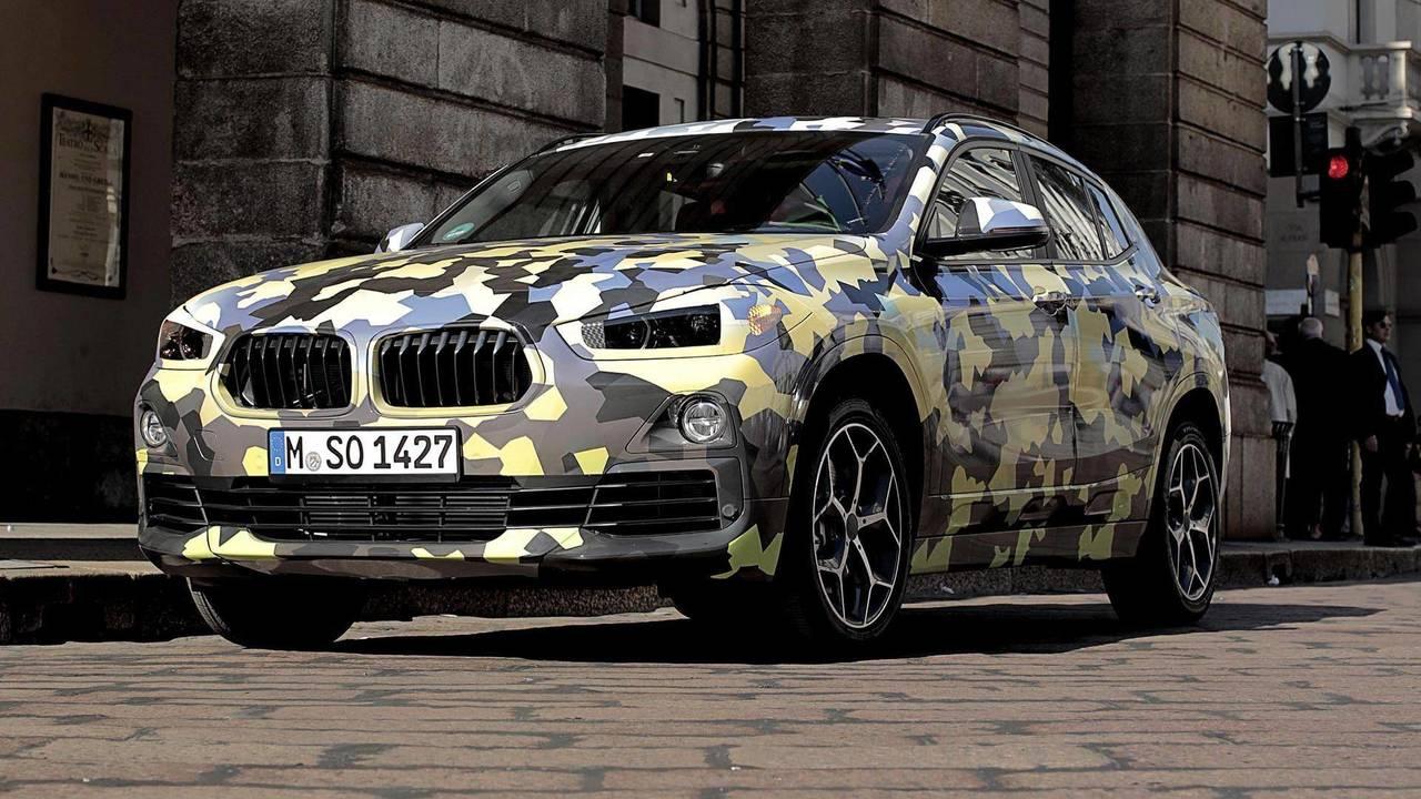 Une livrée camouflage pour le BMW X2