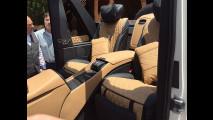 Mercedes-Maybach G65 4x4² Landaulet, le foto rubate