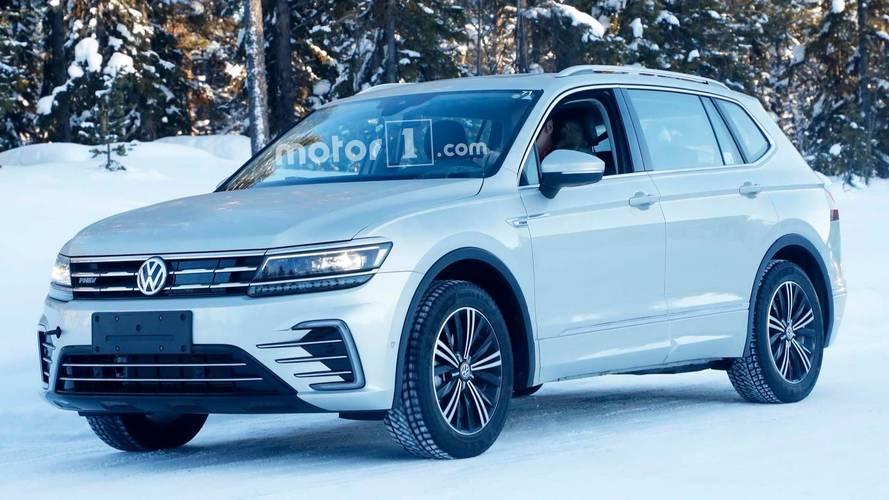 Plug-in hibrit VW Tiguan, kamuflajsız görüntülendi