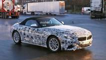 BMW Z4 Spy Shots
