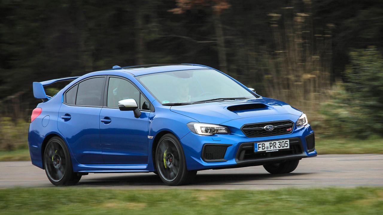 Der finale Subaru WRX STI im Test