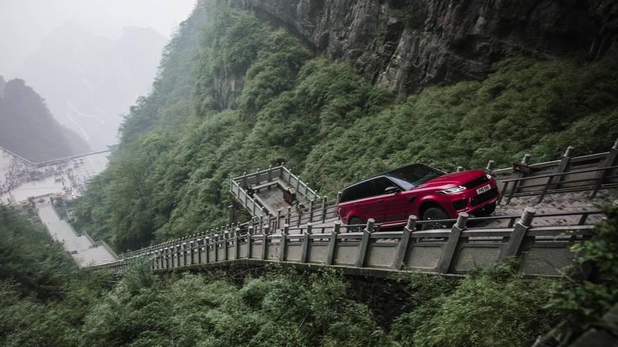 El Range Rover Sport P400e 2018 se atreve con la Carretera del Dragón