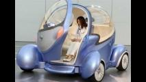Nissan apresenta PIVO2 - carro que gira rodas em 360º para estacionar - Veja o vídeo