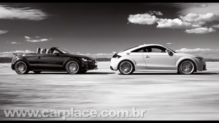 Audi TT RS - Versão esportiva recebe motor de 340 cv e mudanças visuais