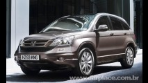 Honda CR-V 2010 - Marca divulga novas imagens oficiais do utilitário reestilizado