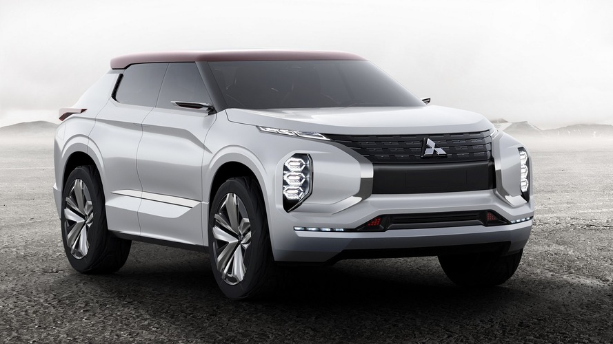 Mitsubishi reveals Ground Tourer plug-in hybrid concept for Paris