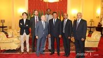 Jean Todt, Président de la FIA, avec le Président éthiopien Mulatu Teshome