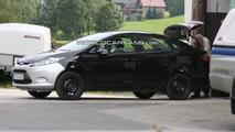 2011 Ford Fiesta sedan spy photo