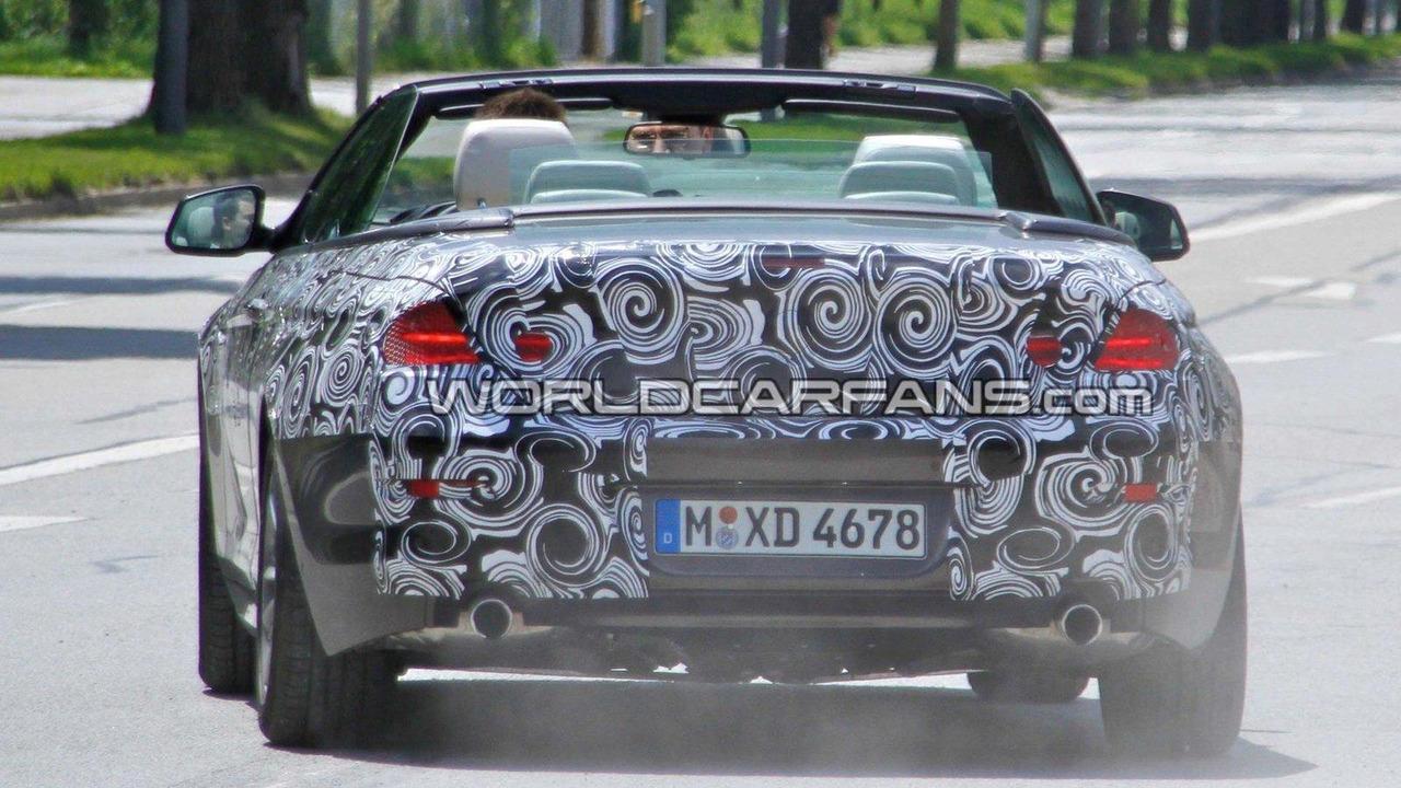 2011 BMW 6-Series Cabriolet spy photo 07.07.2010