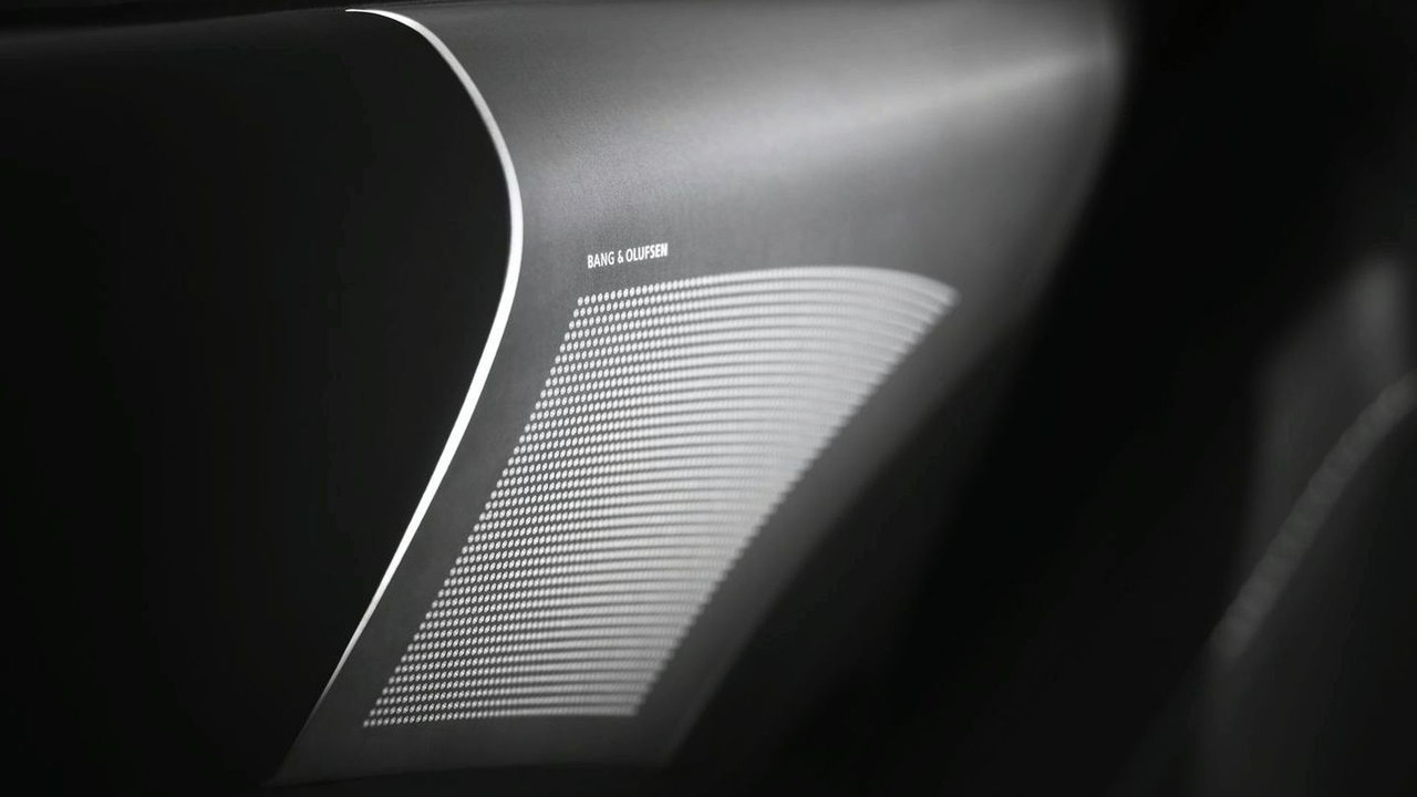 Bang & Olufson stereo system for Aston Martin DB9