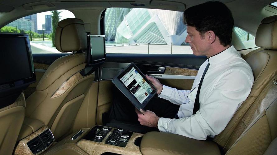 Audi A8 prototype gets broadband internet capability