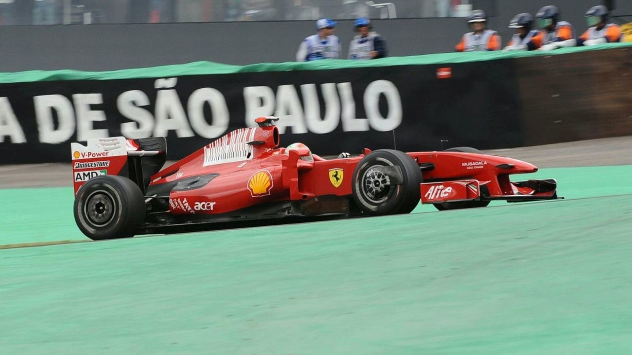 Giancarlo Fisichella (ITA), Scuderia Ferrari, Brazilian Grand Prix, Friday Practice, Sao Paulo, Brazil, 16.10.2009