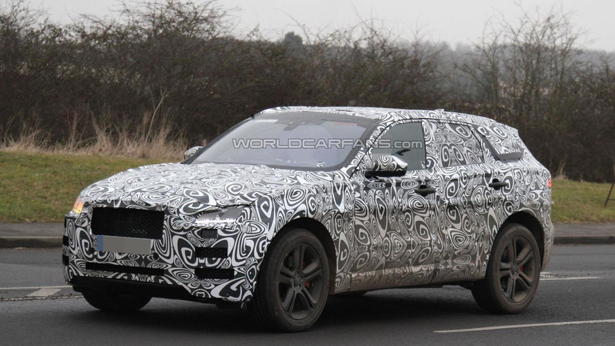2016 Jaguar F-Pace shows its sportier side
