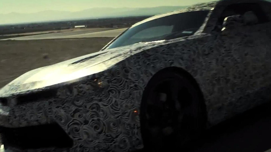 2016 Chevrolet Camaro teased [video]