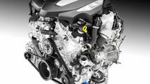 Cadillac twin-turbo 3.0-liter V6 engine