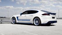 Porsche Panamera Stingray GTR BLUE by TopCar