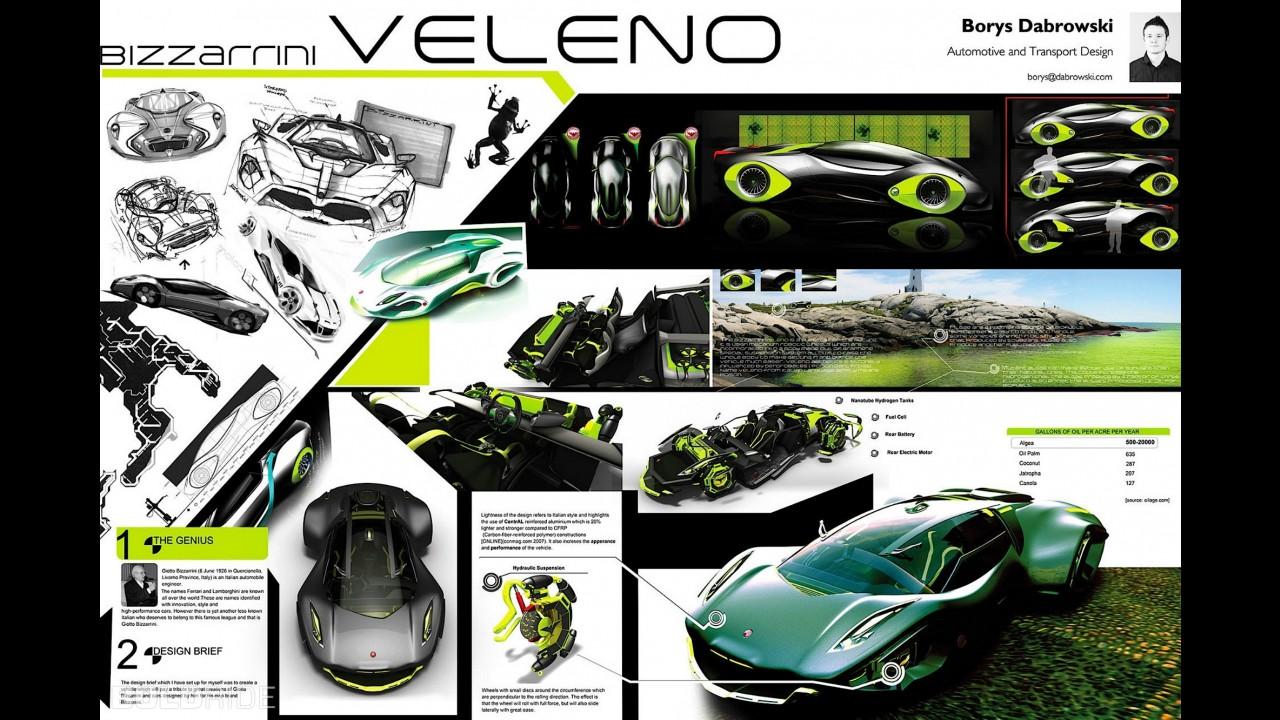 Bizzarrini Veleno Concept by Borys Dabrowski