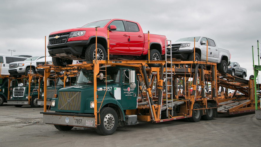 2017 Chevrolet Colorado ZR2 Begins Shipping To Dealers
