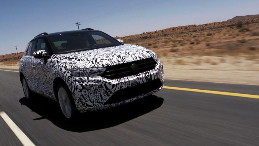 Vídeo del Volkswagen T-Roc 2018... con camuflaje