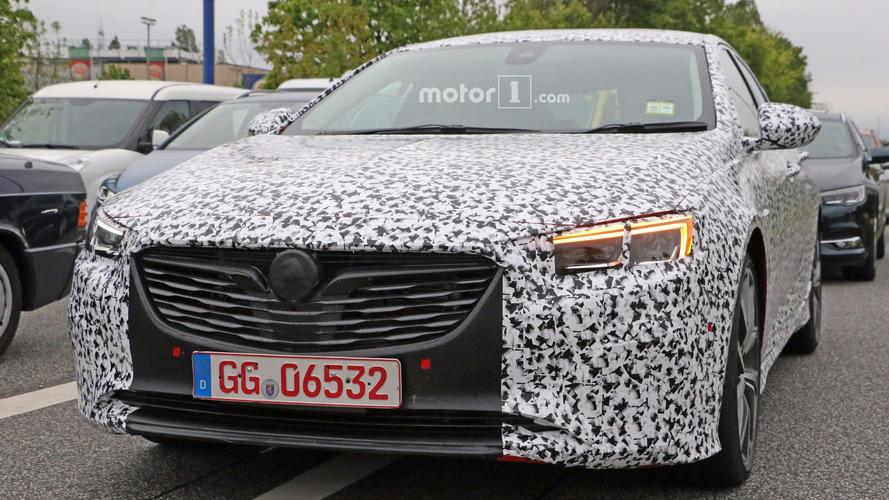 Possible Opel Insignia OPC spy photos