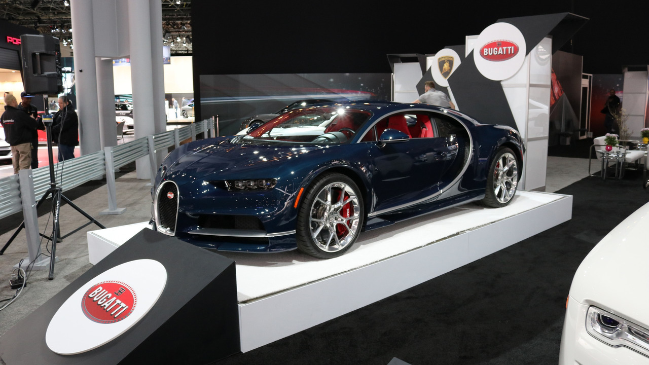 Bugatti Chiron U.S. Spec at 2017 New York Auto Show
