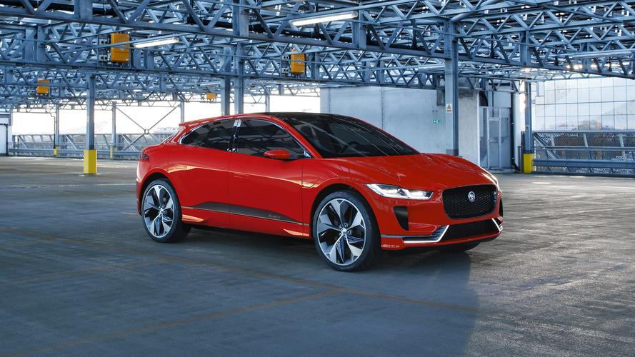 2018 Jaguar I-Pace Could Make Its Production Debut In Frankfurt