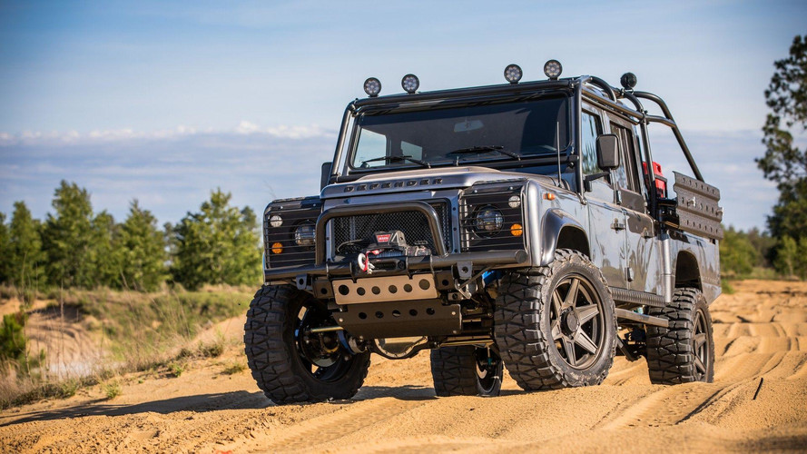 Project Viper Is The Bonkers Land Rover Defender Of Your Dreams